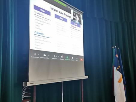 Webinário Universidade dos Açores - divulgação da oferta formativa