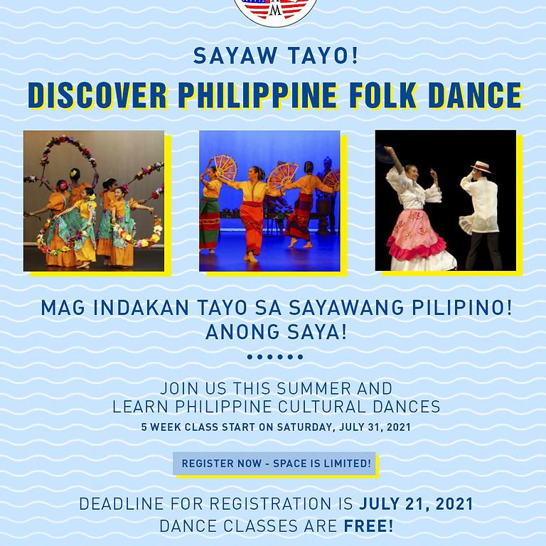 Free Class - Learn Philippine Cultural Folk Dances