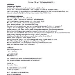 FIL-AM OF SCV TAGALOG CLASS 3 PRONOUNS.j