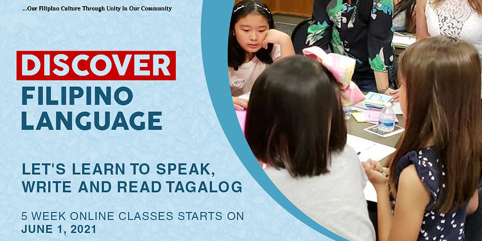 CLASS 2 - Free Class, Learn to Speak, Write & Read Tagalog