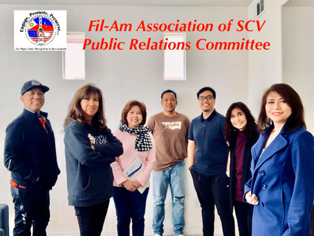 Dynamic Fil-Am Public Relations Committee