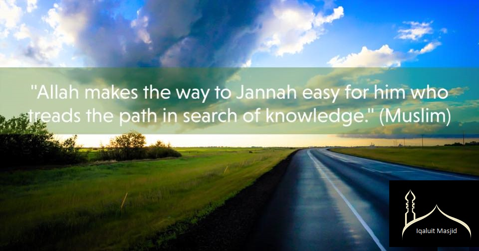 Reminder about seeking knowledge