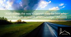 Reminder about seeking knowledge