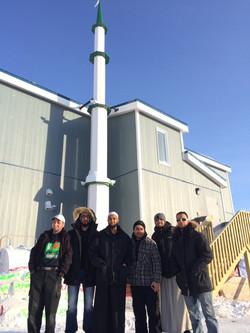 Muslim community members