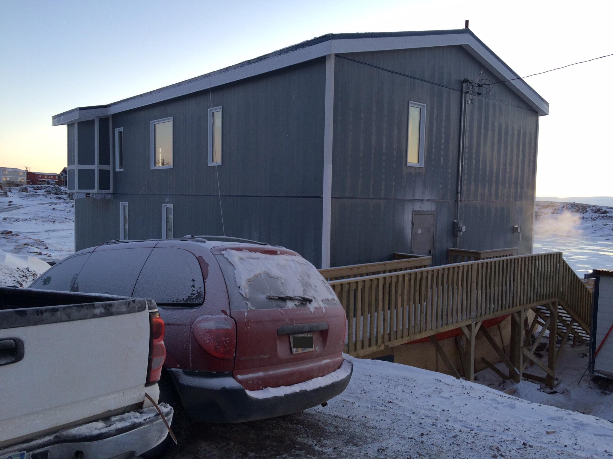 Iqaluit Masjid enterance