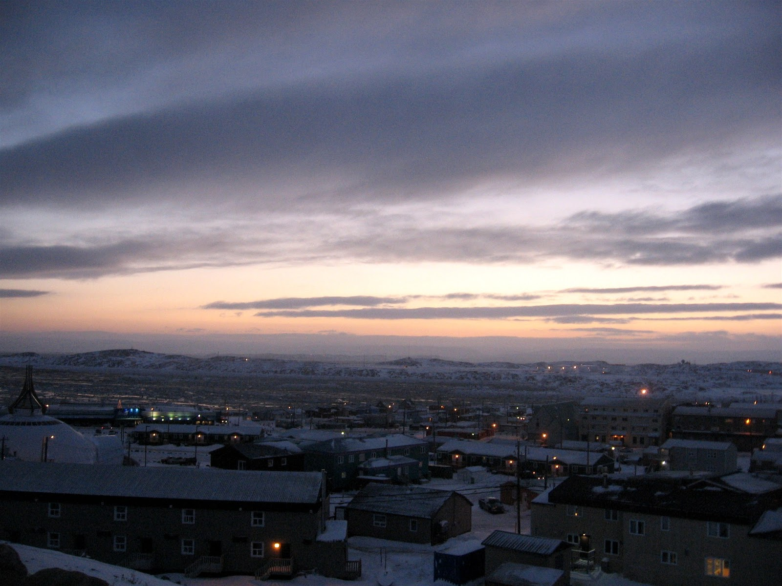 Local view in Iqaluit