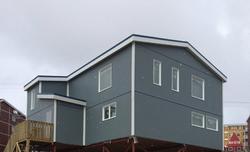 Iqaluit Masjid lake side view