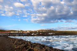 Local view in Iqaluit