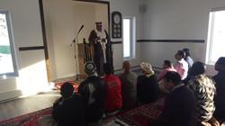 Juma prayer at Iqaluit Masjid