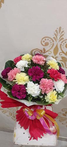 Multicolour Carnations