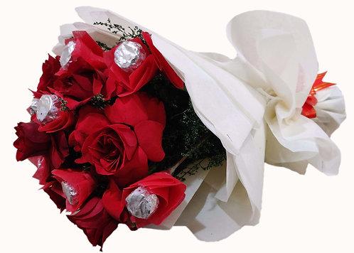 Chocolate roses