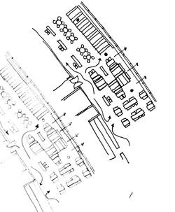 Wembley Stadium space plan sketch