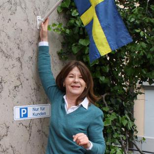 Hit kommer man för smaken av midsommar - Anna-Lotta i Stäfa