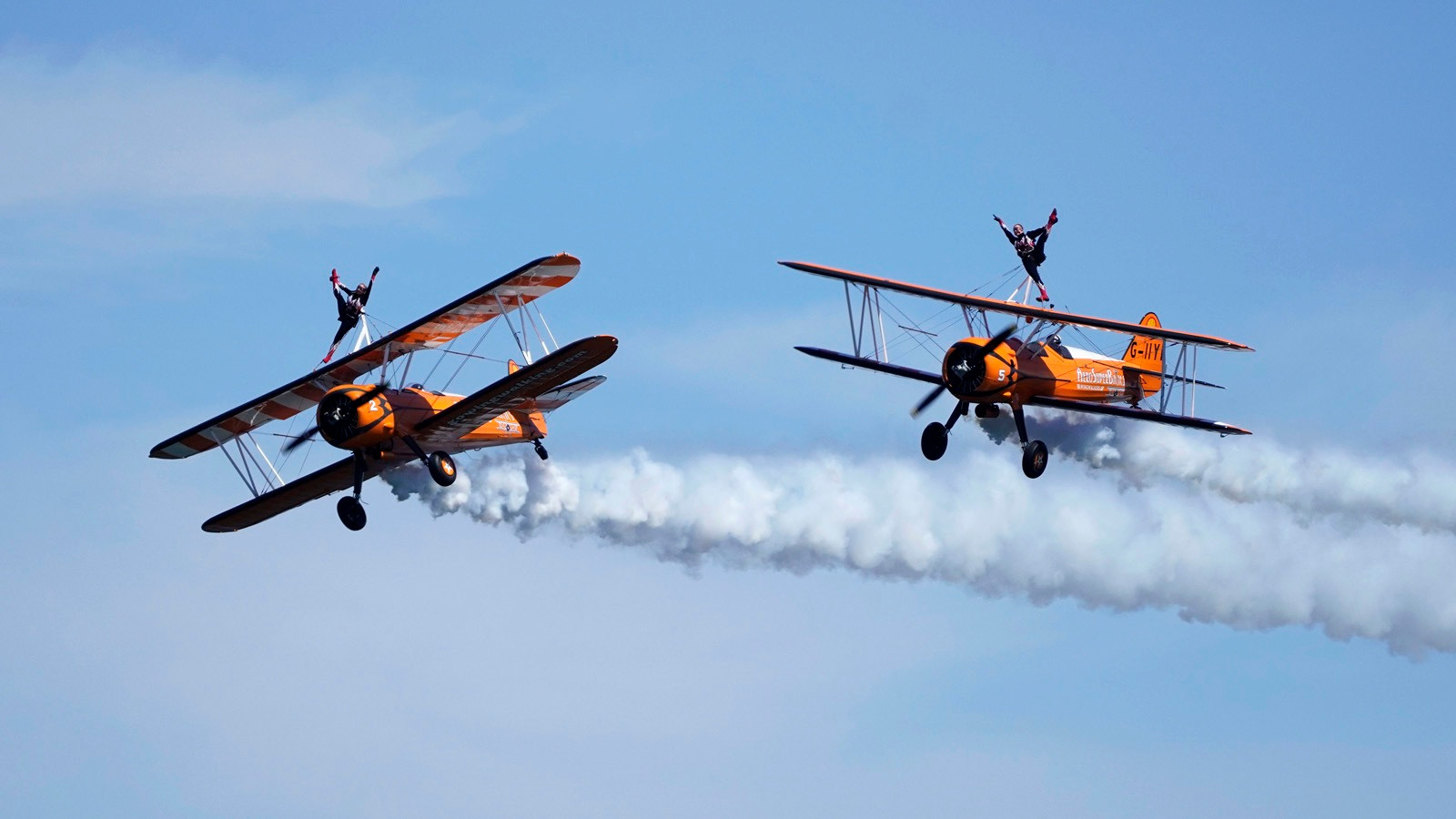 PDI - Wing Walkers by Rowland White (9 marks)