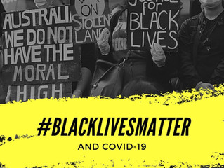Pastoral Statement regarding #BlackLivesMatter Rally and Covid-19