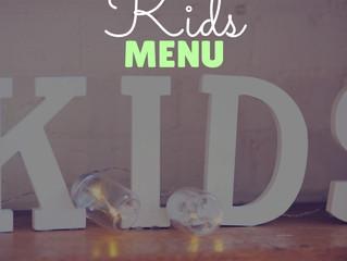 Kid's Menu - 11 October 2020