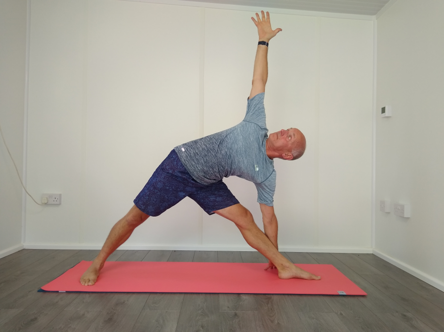 Trikonasana - the triangle