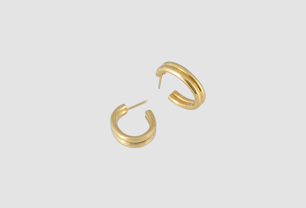 double oval creole gold