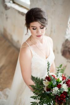 Regina Bride in warehouse