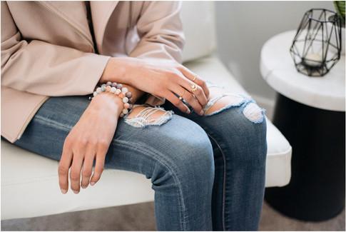 Willow & Grey bracelet detail