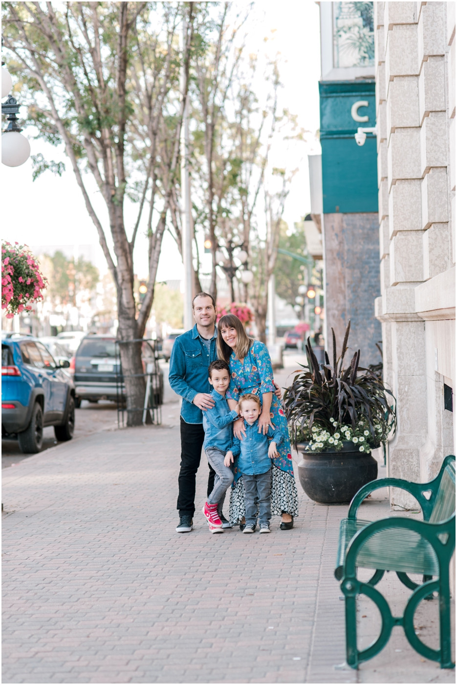DOWNTOWN FAMILY SESSION - MOOSE JAW