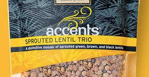 My pantry staple - organic sprouted lentils