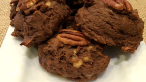 Flourless protein shake cookies (chocolate peanut butter banana)