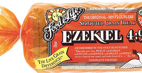 My pantry staple: Ezekiel bread