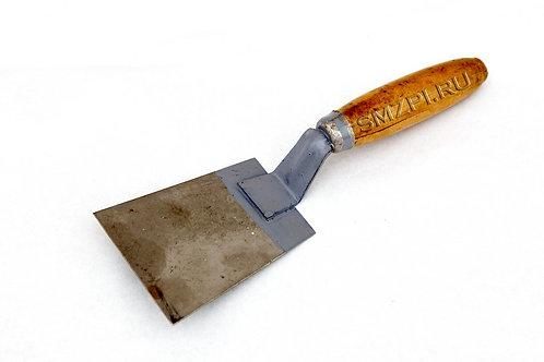 Скребок-лопаточка (нерж.ручка дерев.)