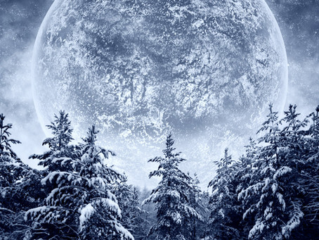 Full Snow Moon and Lunar Eclipse - Astrology is Magical!