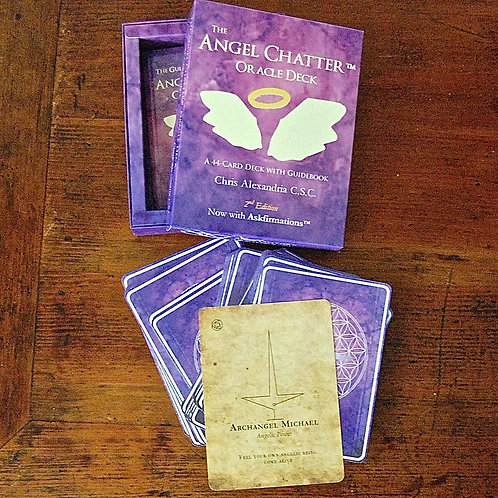 Angel Chatter Oracle Card Deck 2nd Edition