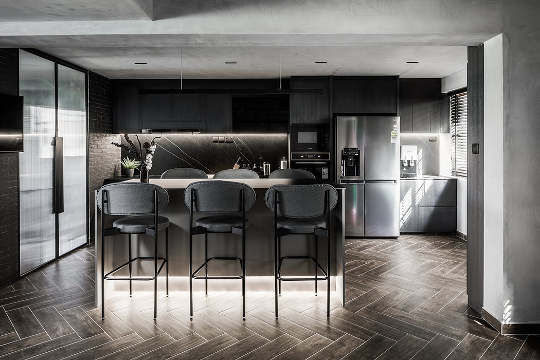 Project SNA4 Maisonette | Industrial-Luxe x Brutalism