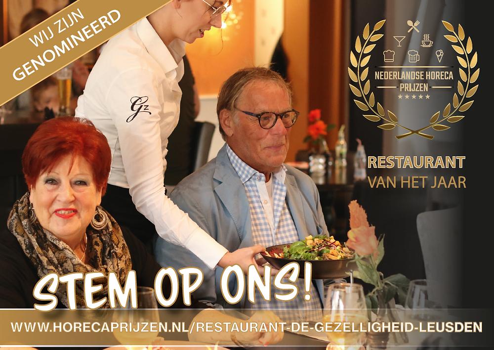 Nederlandse Horeca Prijzen Restaurant van het Jaar