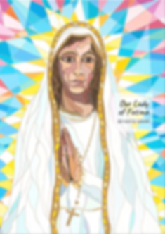 Our Lady of Fatima by Katie Sahm