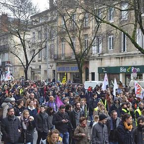 Manifestation Bordeaux : vers la convergence des luttes