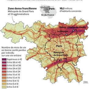 Le bruit nuit gravement à la santé des Franciliens