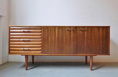 British walnut sideboard by Morris of Glasgow