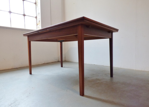 1960s danish rosewood dining table archive furniture vintage and