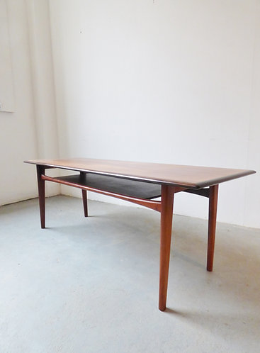 1960s Danish rosewood coffee table