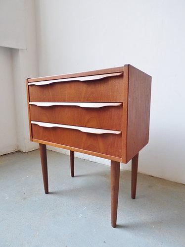 Small Danish teak chest - 1960s