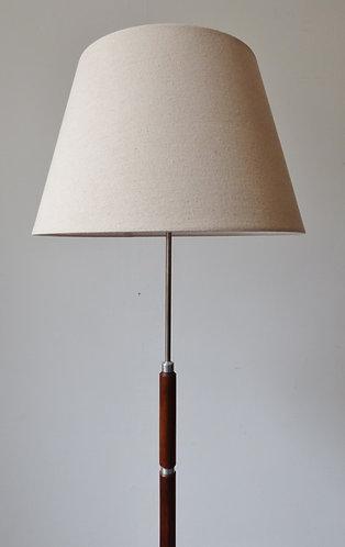 Mid-century Danish rosewood standard lamp