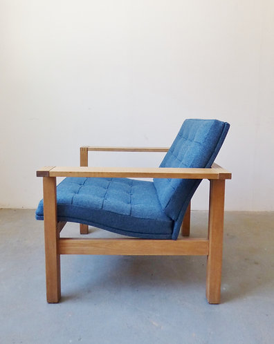 Danish oak armchairs by Lind/Knudsen for France & Søn