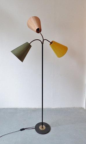 1950s Danish 'traffic light' floor lamp