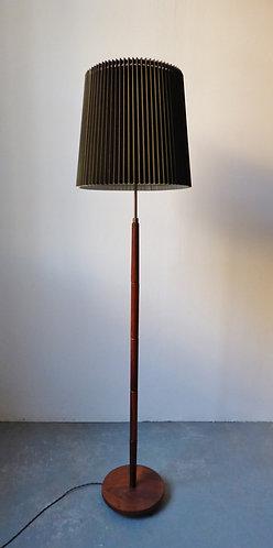 Danish rosewood floor standing lamp