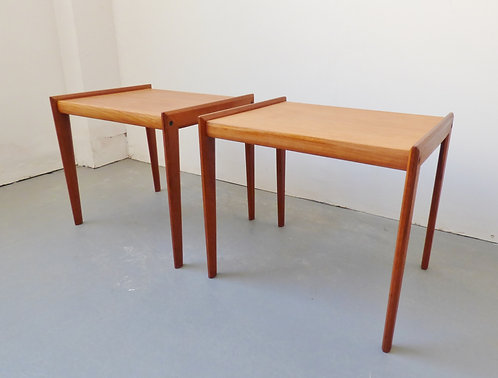 Pair of mid-century bedside tables