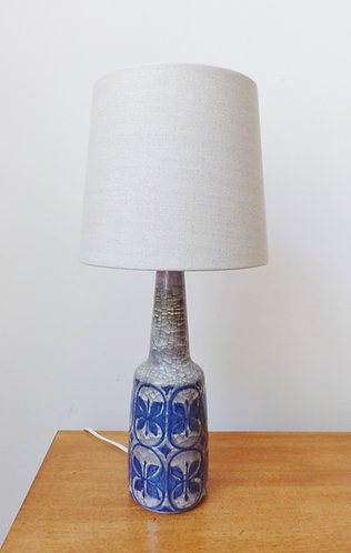Mid-century Danish ceramic table lamp with Persia glaze by Marianne Starck for Michael Andersen