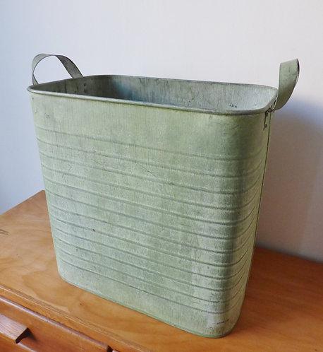 Verdigris storage container / planter
