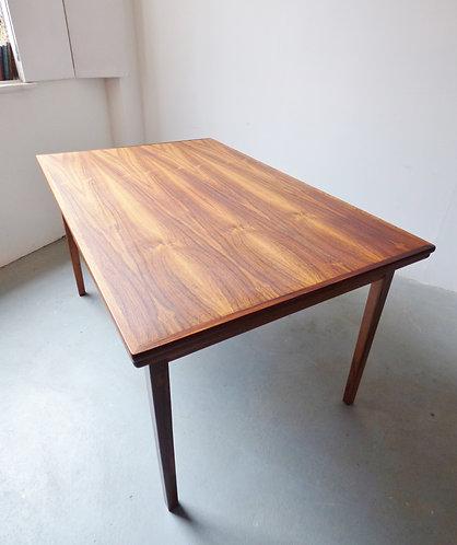 Mid-century Danish rosewood dining table