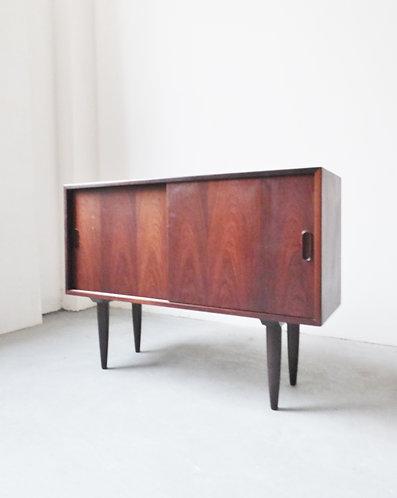 Small mid-century Danish rosewood sideboard