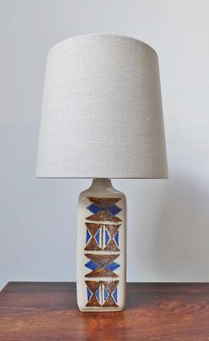 Ceramic table lamp by Michael Andersen